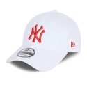 Gorra New York Yankees Essential 9Forty, Blanco