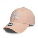 Gorra New York Yankees Essential Pink 9Forty Mujer