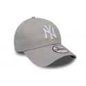 New Era Gorra Ny Yankees Essential 9Forty Gris Blanco